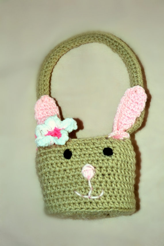 Crochet Easter Basket : Crochet Easter Baskets Related Keywords & Suggestions - Crochet Easter ...