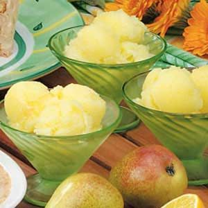 Gingered Pear Sorbet Making this for tomorrow night for Carin