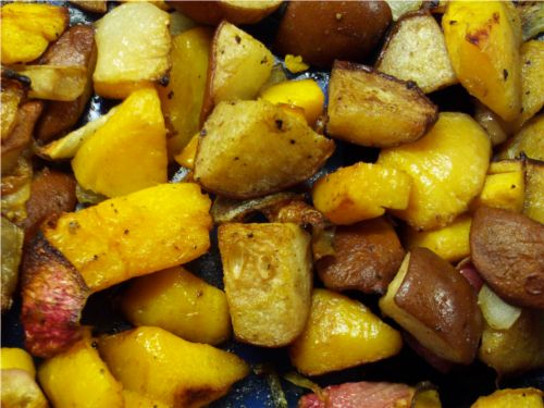 Roasted butternut squash and pears. | Slim Cooking | Pinterest