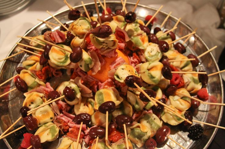 Antipasto skewers | MNH Events | Pinterest