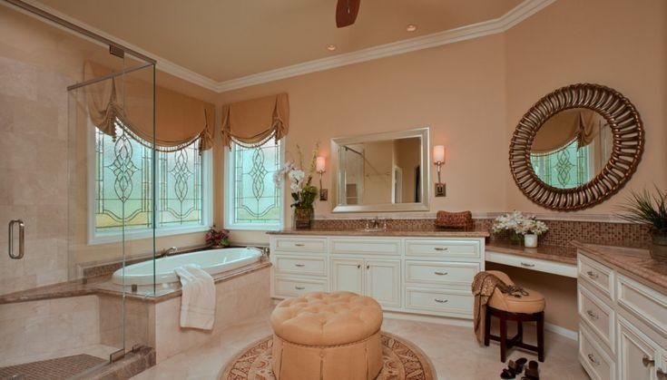 Elegant Master Bathroom Remodel Residential Master