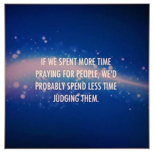 """Too many are quick to """"send prayers,"""" when"""
