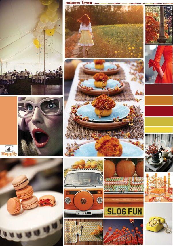 Autumn tones wedding  Mariage en automne