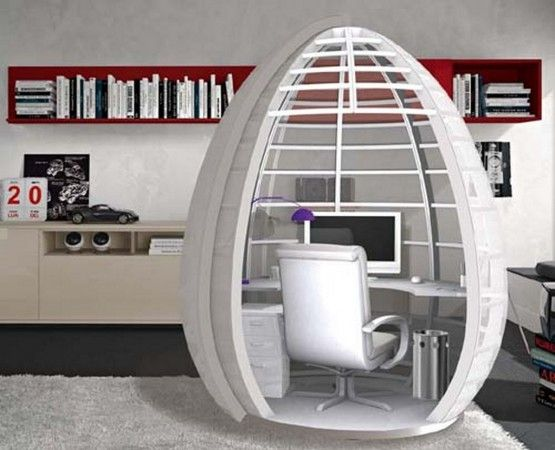 stylish mobile home pod as office space office swag