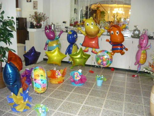 Pin by scarlett a rivera on the backyardigans party ideas for Backyardigans party decoration