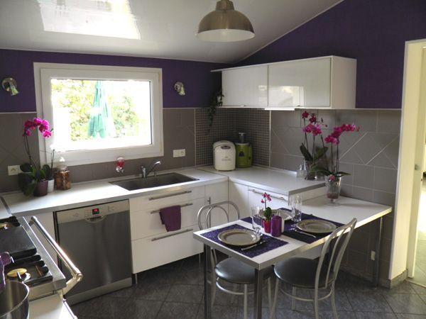 Gris et violet kitchen pinterest - Gris et violet ...