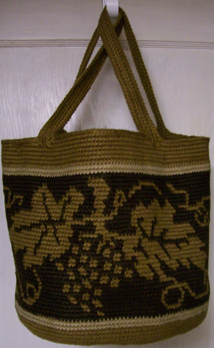 Tapestry Crochet Bag : Tapestry crochet bag, BHenson Tapestry Crochet Pinterest