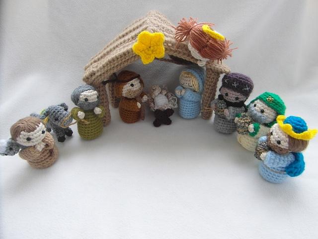 Crochet Patterns Nativity Scene : Ravelry: Amigurumi Nativity Scene pattern by Justyna Kacprzak