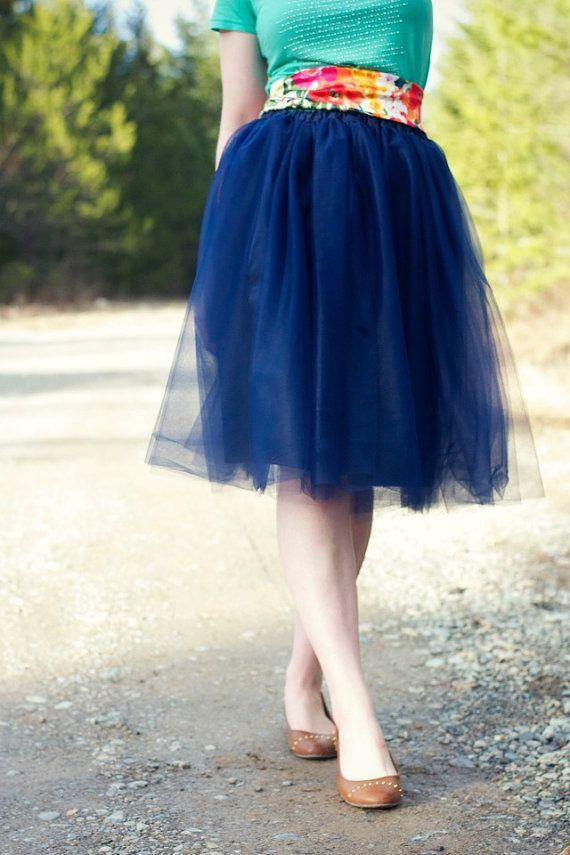 navy blue tulle skirt midnight blue tutu