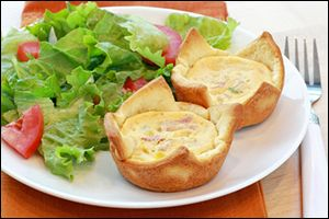 HG's Quiche Me Bacon Tarts | Things I'd Like to Eat | Pinterest