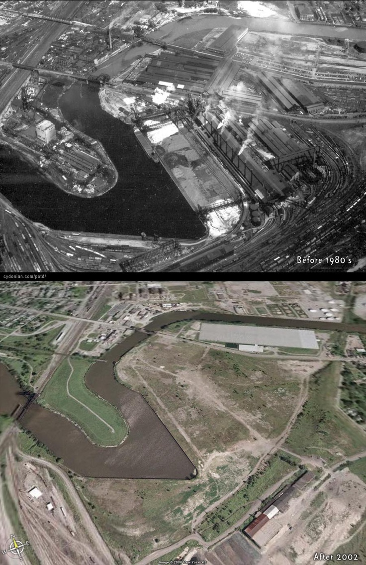 Republic Steel - Buffalo, NY - Before and After