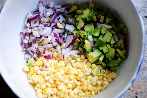 Fresh Corn and Avocado Salsa by Ree Drummond/The Pioneer Woman