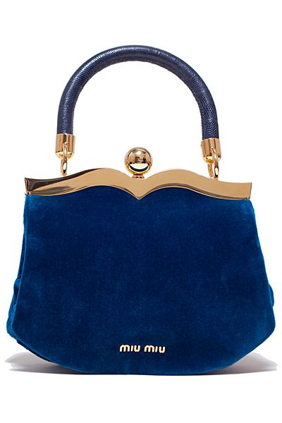 miu miu velvet blue for the next fall