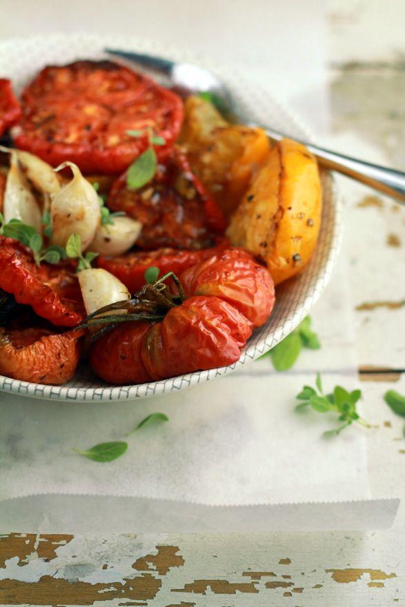 Slow roasted tomatoes | tasty ideas | Pinterest