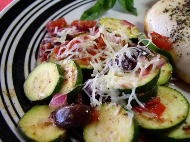 Grilled Greek-Style Zucchini | Recipe