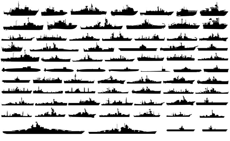 100 Navy Ships Silhouettes | My Dad::) Retired 60yrs Navy. | Pinter…