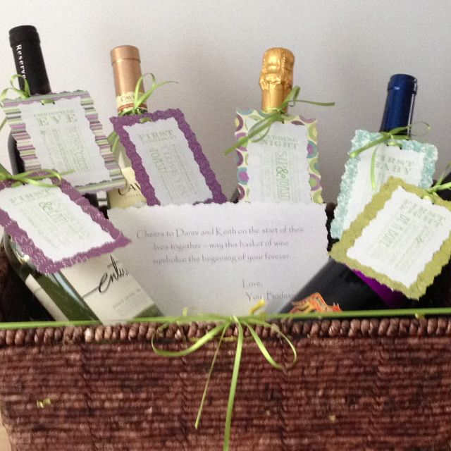 Wedding Gift Wine Bottle Poems : Pin by Kimberlee Bridgeford on Wine Basket Pinterest