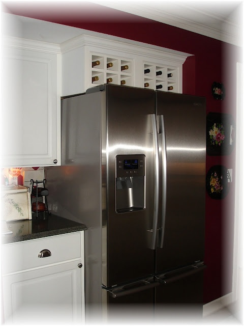 Reinvent The Cabinet Above The Fridge Ideas Pinterest