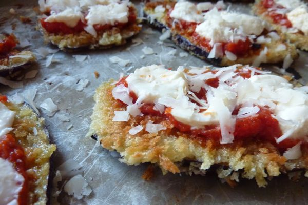Eggplant Pizzas | GET MY VEGGIES | Pinterest