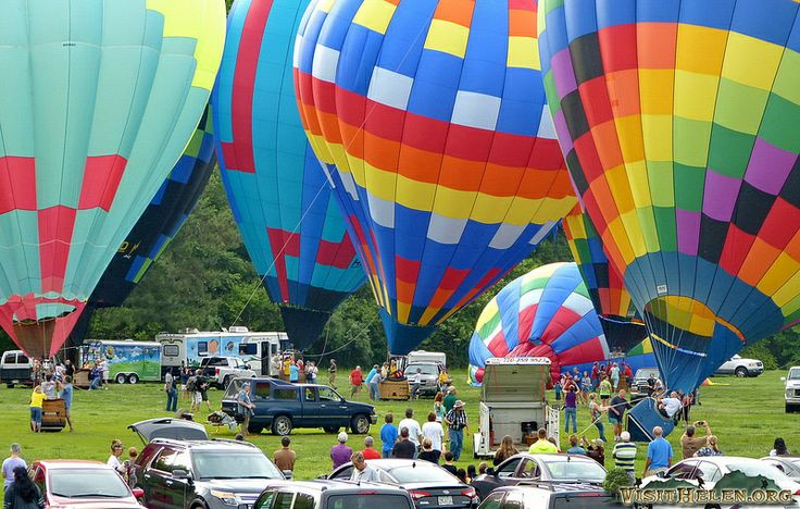 helen ga 41st annual hot air balloon race to the atlantic