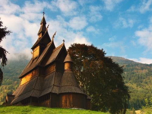 Stavkirke, Hopperstad, Norway / Peter Nijenhuis