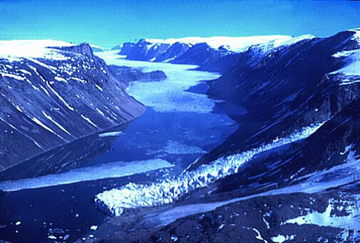 nunavut glaciers