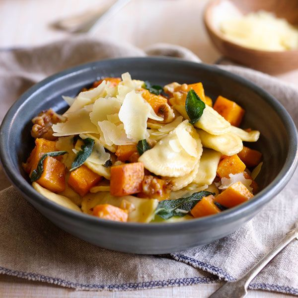 ... Roast Pumpkin, Walnuts and Sage | Pasta recipe ideas for the family