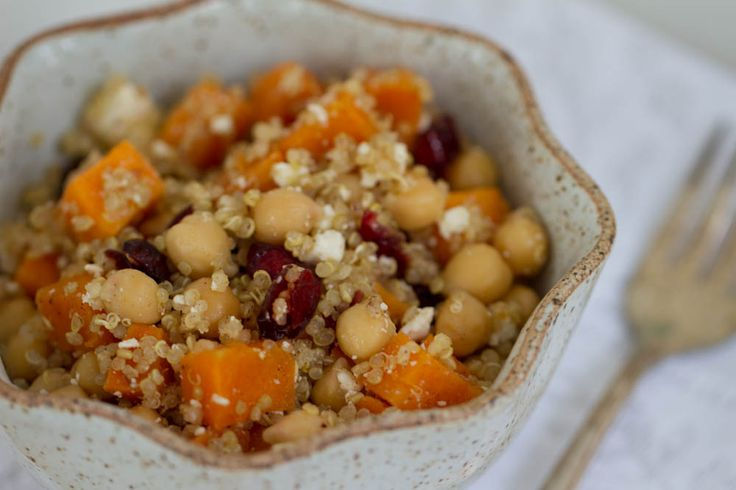 Quinoa and sweet potato salad | SuperFoods Recipes | Pinterest