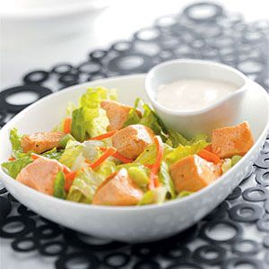 Buffalo Chicken Salad (Baby Greens, Shredded Carrots, Sliced Celery ...
