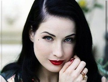 dita von teese makeup dita von teese is going to be a guest star in