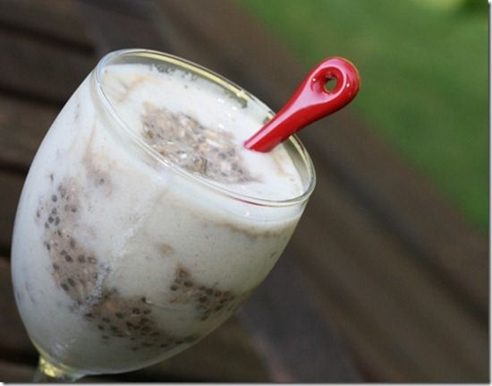 Carob Banana Chia Vegan Overnight Oats Recipes — Dishmaps