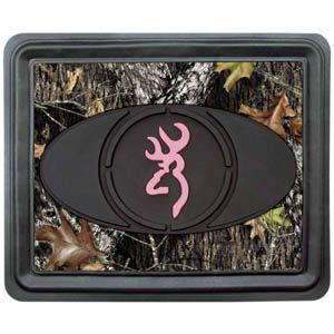 Browning mossy oak infinity amp pink camo utility rear floor mat