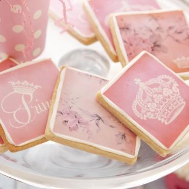 princess shortbread cookies