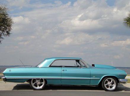 63 Chevy Custom Hood Autos Post