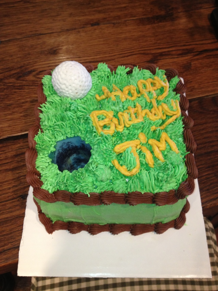 Images Of Birthday Cake For Uncle : Golf Birthday Idas On Pintrest Party Invitations Ideas