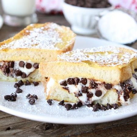 Cannoli Stuffed French Toast | The Festively Plump Child in Me ...