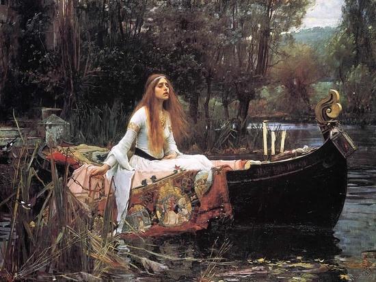 The Lady of Shalott   Art   Pinterest