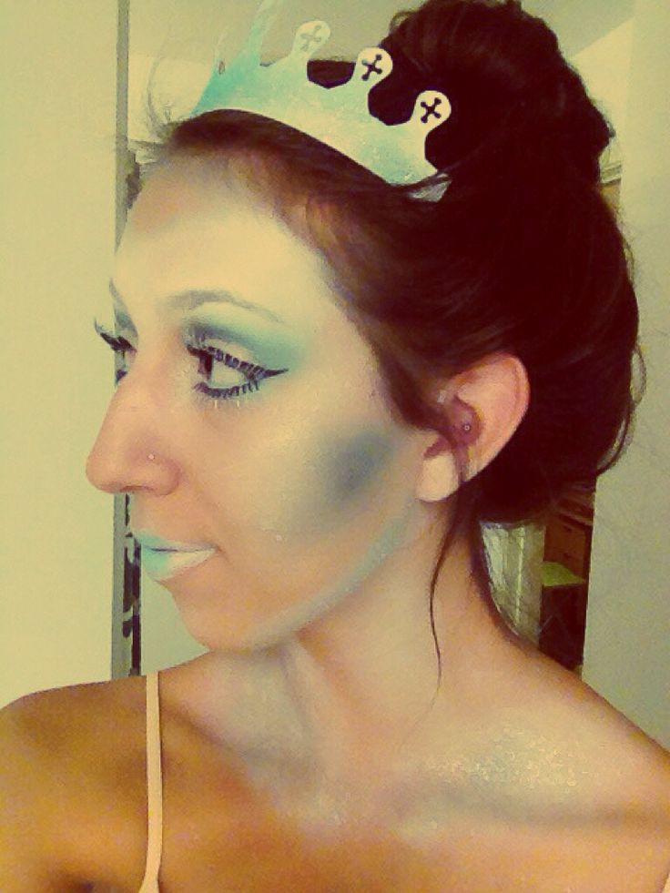 Ice princess halloween makeupIce Princess Halloween Makeup
