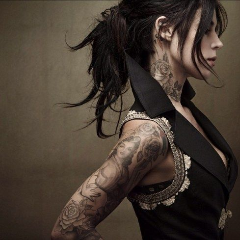 Girls with Tattoos are Nice to Look at (20 images) | Get Up & Support NYC