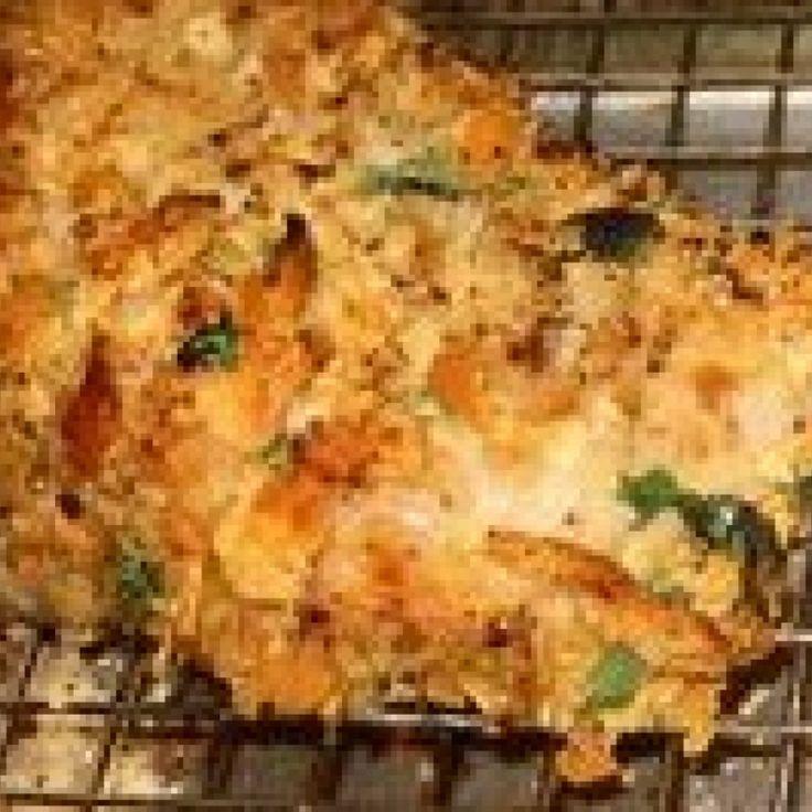 Crunchy Pork Chops/Chicken Baked | Recipe