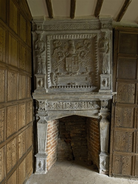 Tudor fireplace all things tudor related pinterest for Tudor style fireplace