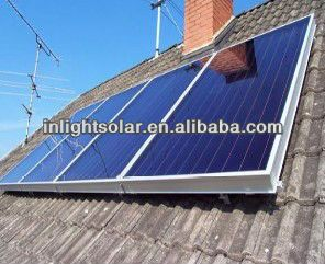 High Heat Efficient Flat Plate Solar Panel Solar Thermal Collector $ ...