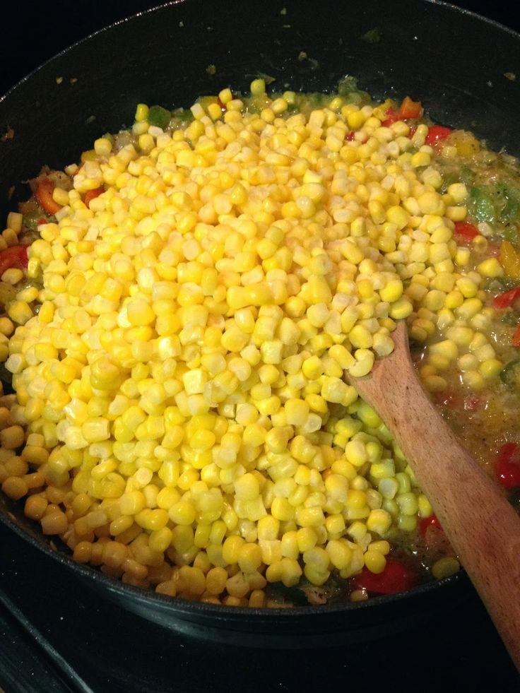 Corn Maque Choux | Nom Nom Nom | Pinterest