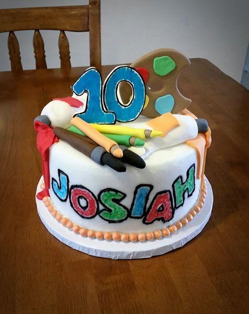 Cake Art Supplies : Art Supplies Birthday Cake Cakes By Jennifer Pinterest