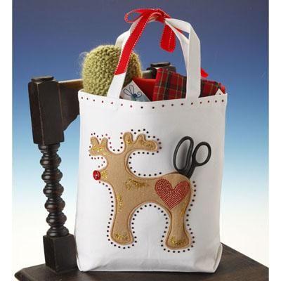 Reindeer Games Gift Tote