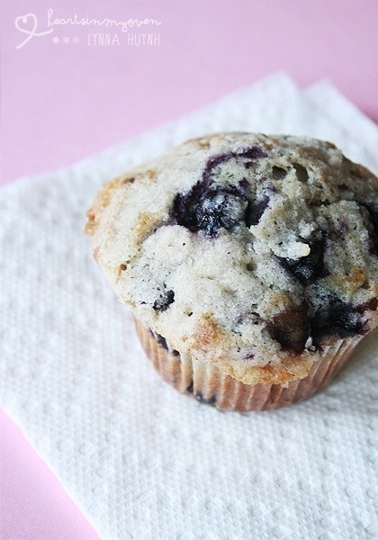 Browned Butter Double Blueberry Muffins | Recipe