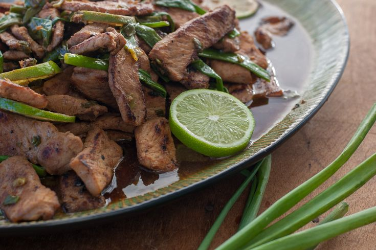 Pork Stir-Fry With Honey, Lime, and Ginger - The Kitchen Snob