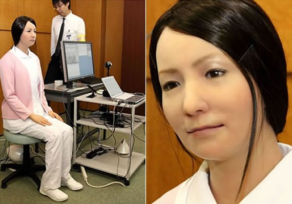 Japan Plans To Build Robot Nurses To Help Care Givers Assist Elderly Patients