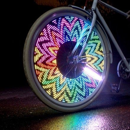Fun bike lights