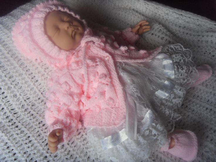 Small Baby Knitting Patterns : LITTLE PRINCESS baby knitting pattern Projets a essayer Pinterest